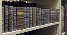 bokryggar i bergianska biblioteket