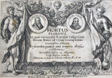 titelblad till Hortus floribus