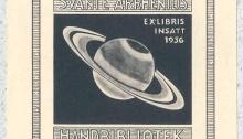 Svante Arrhenius exlibris