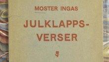 Omslag till Moster Ingas julklappsverser